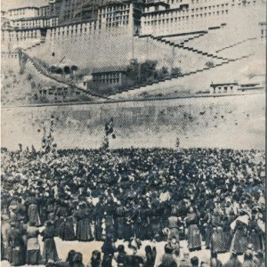 12t march 1959 Tibetan women protesting